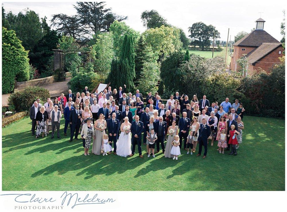 Park Hall Farm wedding Leigh. Claire Meldrum Photography