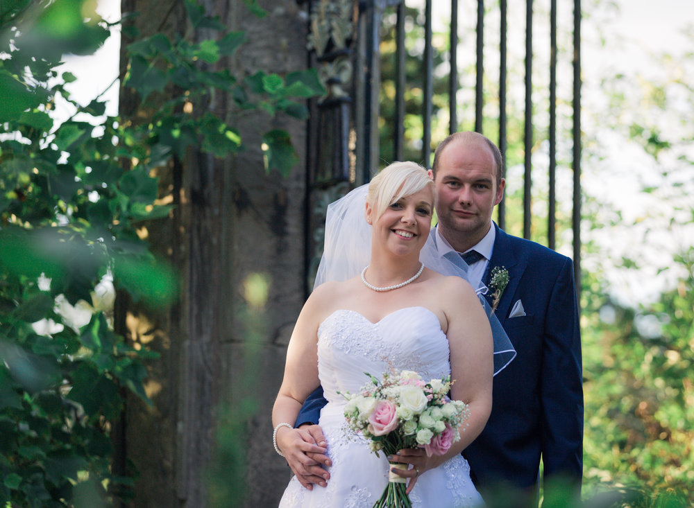 Relaxed wedding photography Uttoxeter