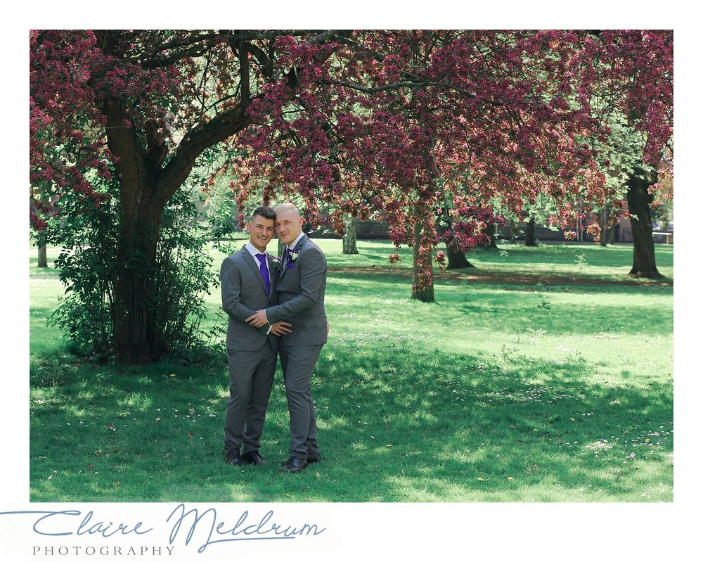 Two Grooms Image 2 Claire Meldrum Photography