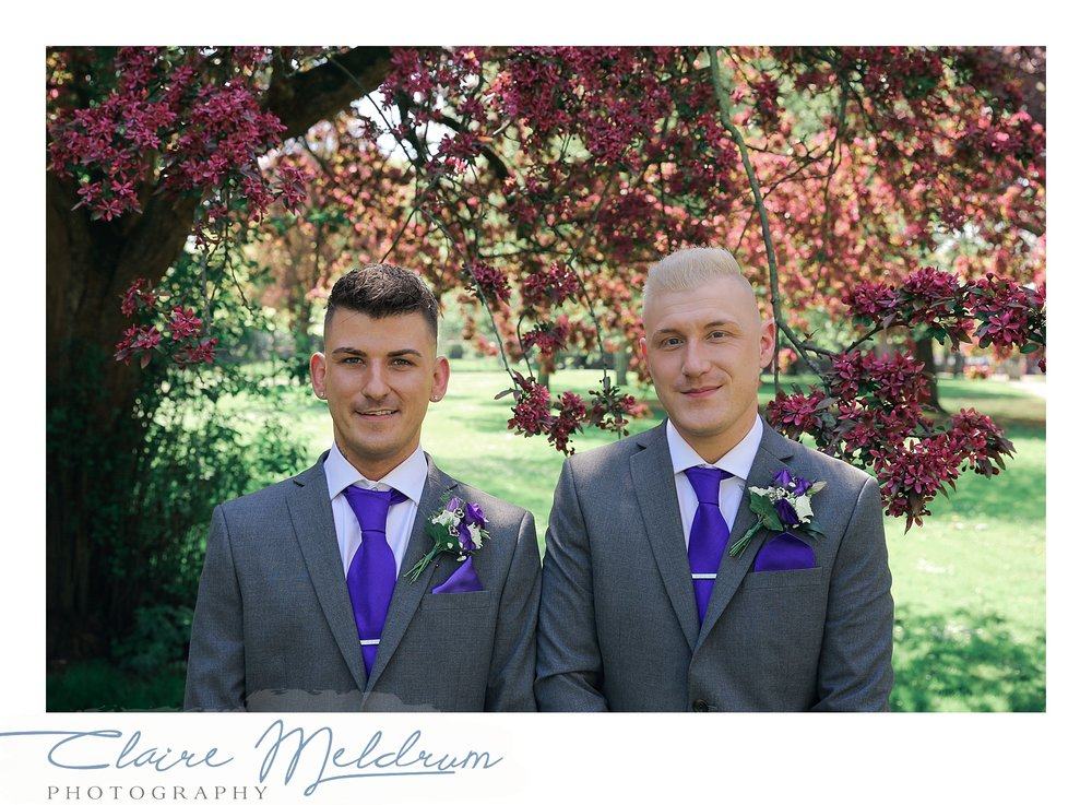 Two grooms Image 4 Claire Meldrum Photography