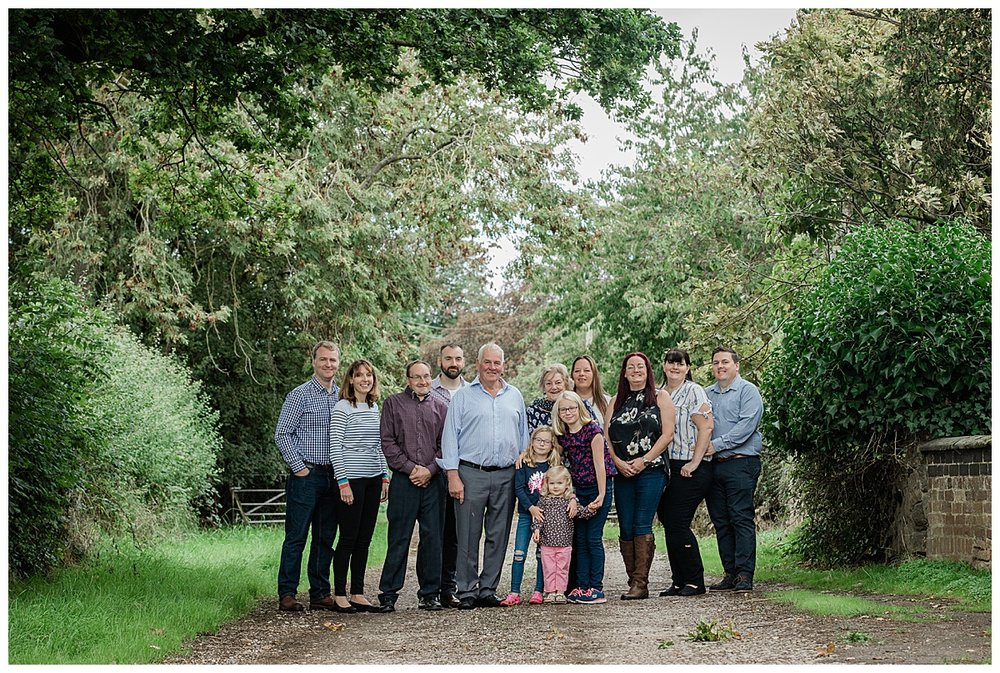 Langridge family - photographed by Claire Meldrum Photography