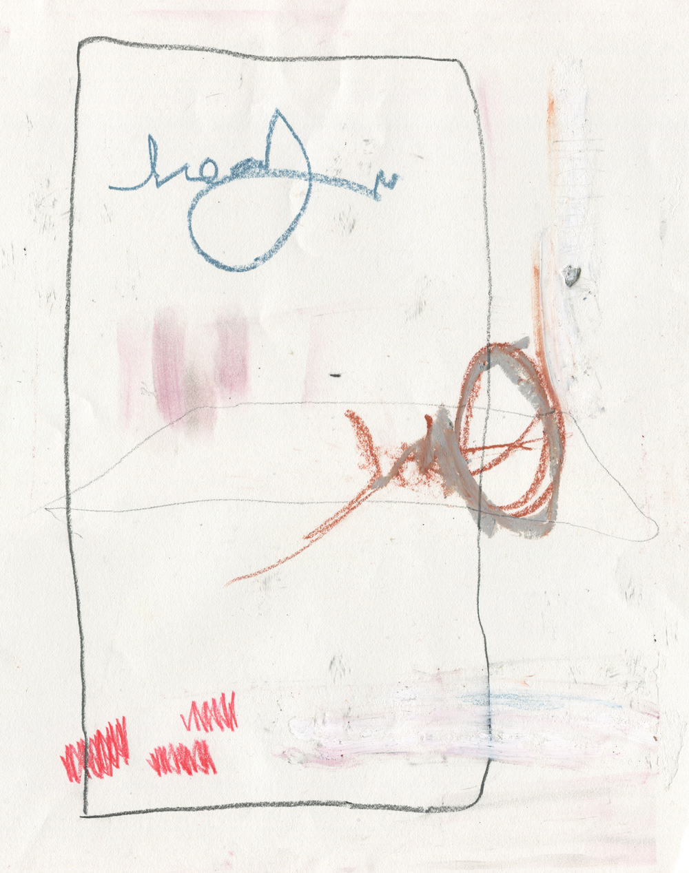 Urban Floor Plans , 2016  14 x 11 inches  Crayon, Conte Crayon, Colored Pencil, Oil Stick, Graphite, and Oil Pastel on Paper