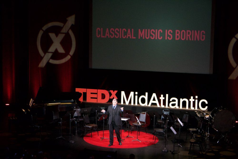 Jordan Randall Smith speaks at TEDxMidAtlantic 2017 in Washington, D.C.