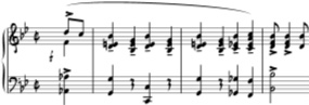 Jazz font (avoid). Source:  mozart.co.uk