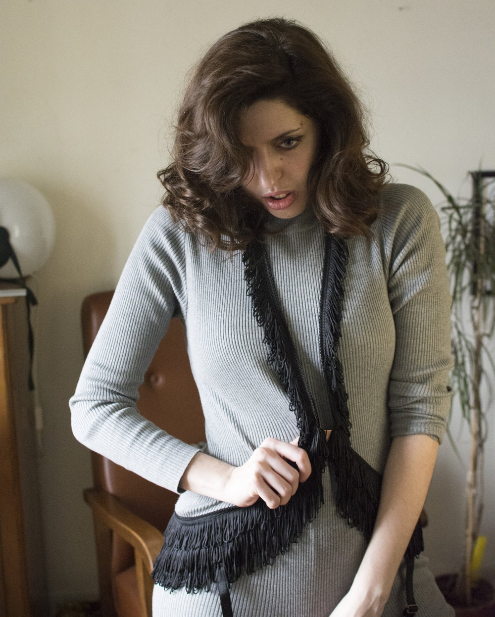harnais à franges - Pour accessoiriser un pull ennuyeux, optez pour ce harnais à franges... Lascivious, 199€ - livré dans une boite cadeau