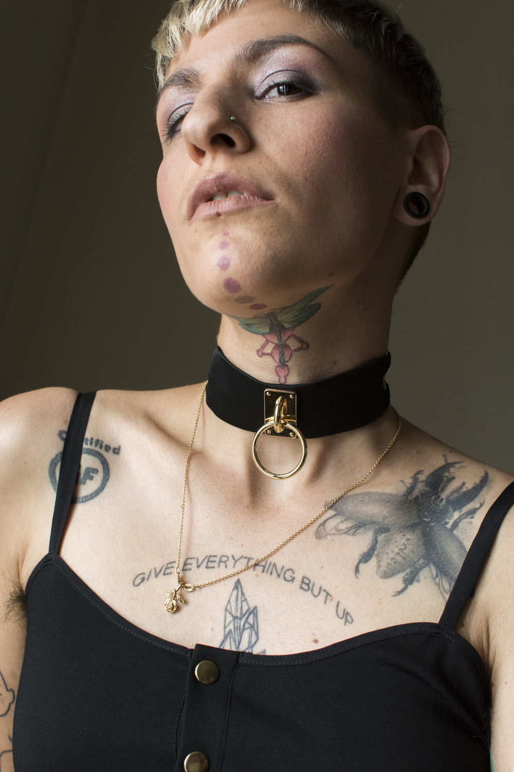 murmur clothing choker teddy gold straps_02.JPG