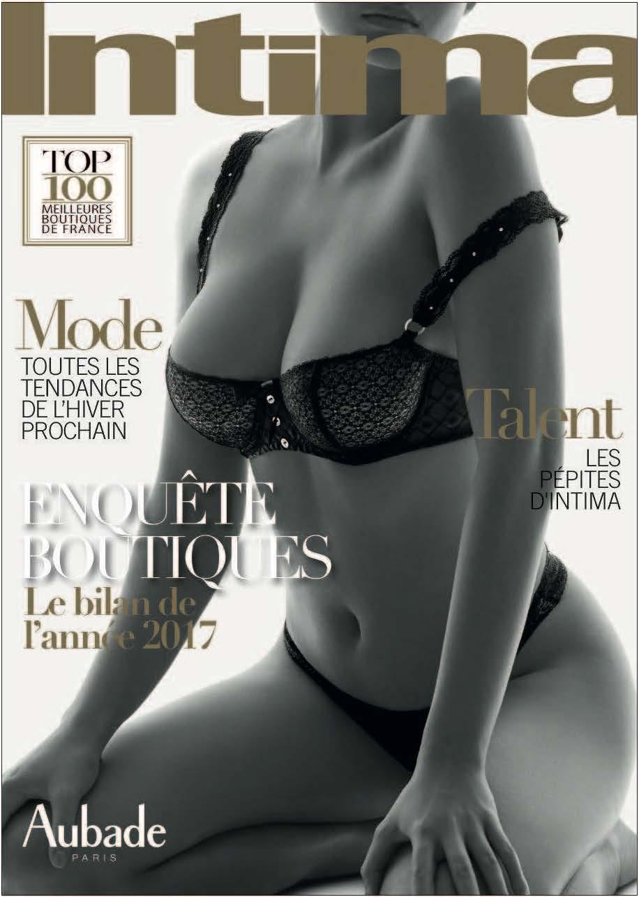 Couverture magazine Intima - Janvier 2018