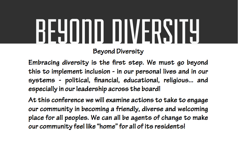 Meet Our Generous Beyond Diversity Sponsors