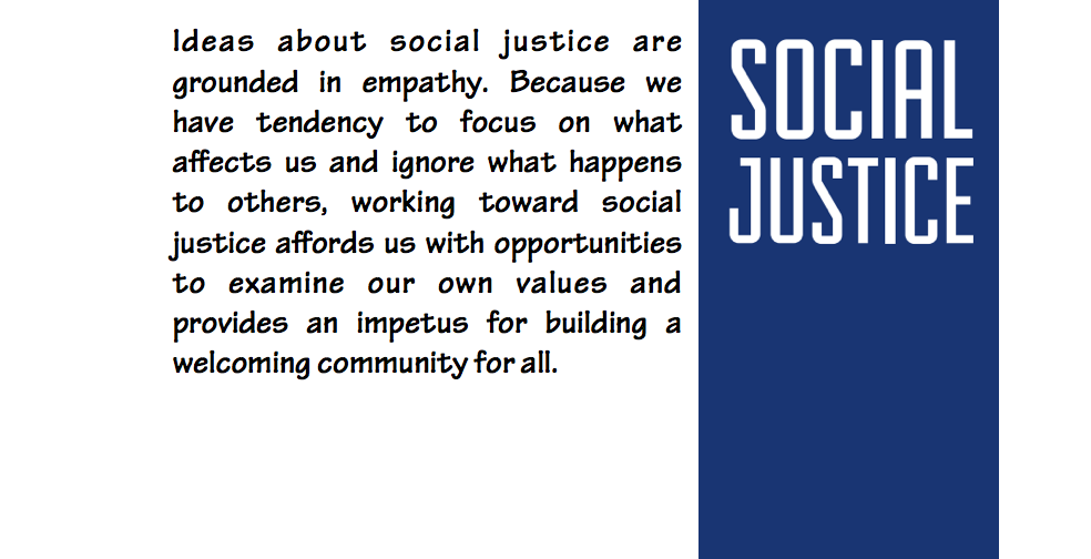Meet our Generous Social Justice Sponsors