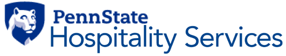A thank you to our constant supporter:    PENN STATE HOSPITALITY SERVICES!