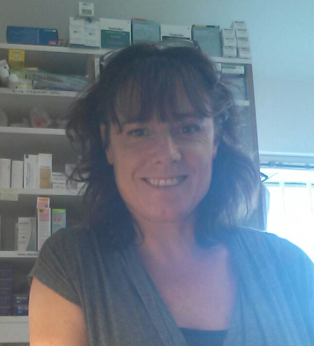 Louise Baker Dispense Manager and Stop Smoking Advisor for the Isles of Scilly Health Centre