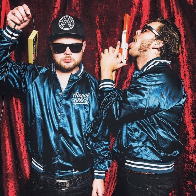 Royal Blood take to the stage the 22nd of June. Image courtesy of edensessions.com