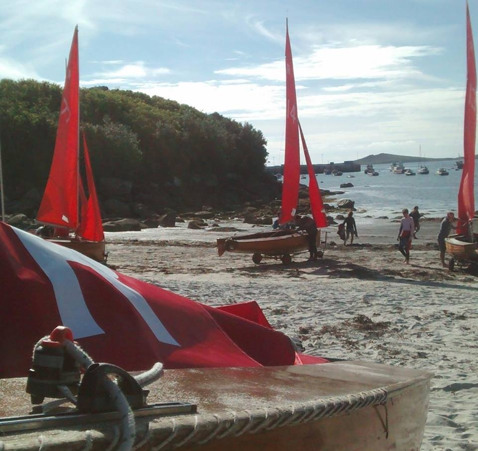 PASAB and Round The Island Race taking place this weekend on Scilly. Image courtesy of Red Wings on Scilly.