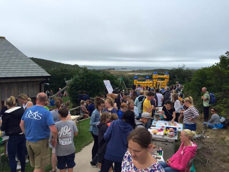 Bryher Fete in full swing. Image courtesy of Visit Isles of Scilly.