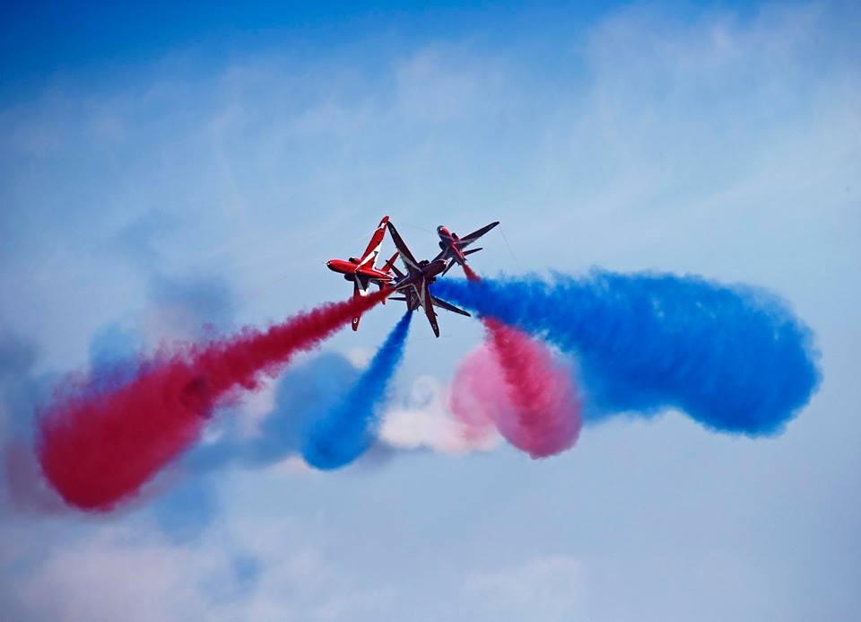 The Red Arrows sensational display is due to take place on Scilly this Monday at 3pm.