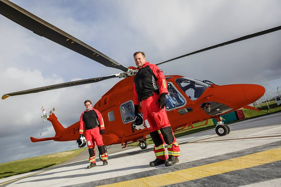 It's planned the Augusta Westland 169 (AW169) helicopter will take over in April 2020. Image courtesy of Cornwall Air Ambulance.