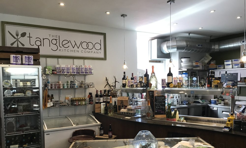 The Tanglewood Kitchen at the Post Office on St Mary's.