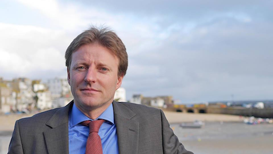 Derek Thomas, MP for the St Ives Constituency which includes the Isles of the Scilly.