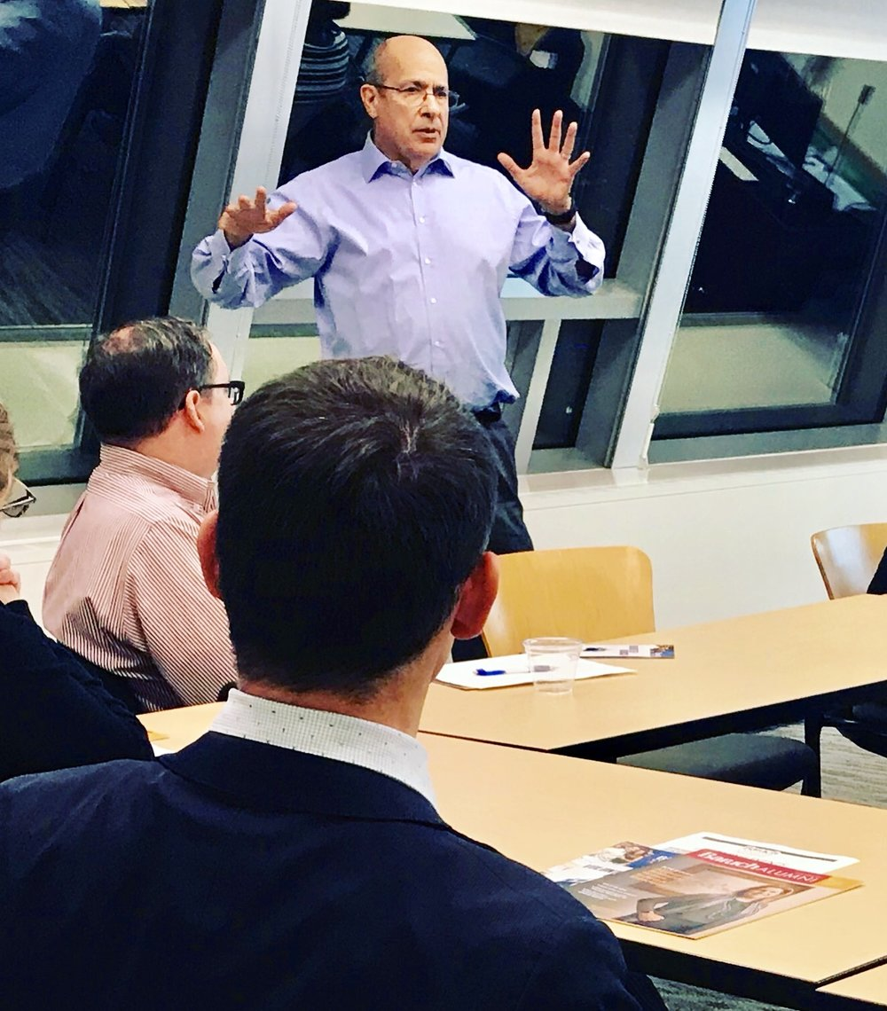 Gordon presenting at recent seminar