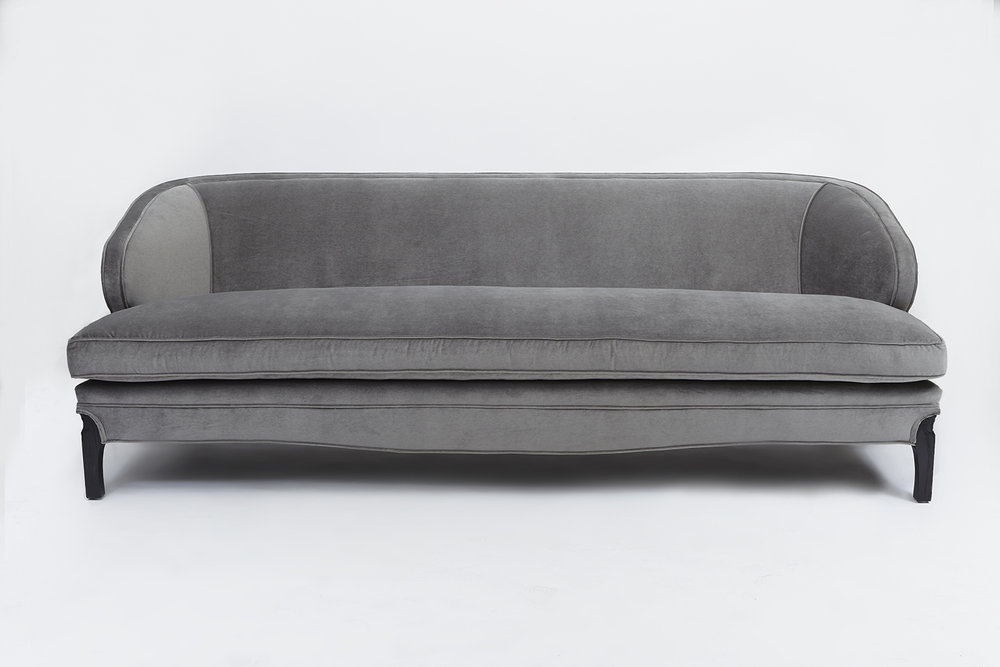 The Douglas Sofa by Lawson Fenning. Very sexy and the top pick for quality at an amazing price. Available online.