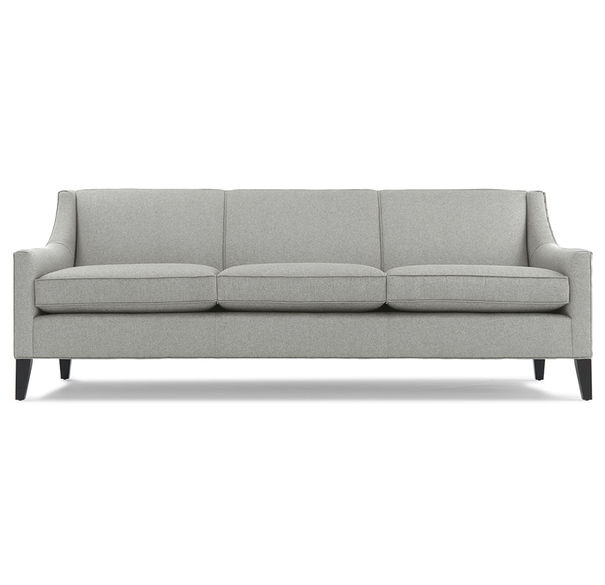 The Cara Sofa by Mitchell Gold + Bob Williams. A beautiful piece that is very versatile and at a price anyone can appreciate. Available at Mitchell Gold + Bob Williams stores.