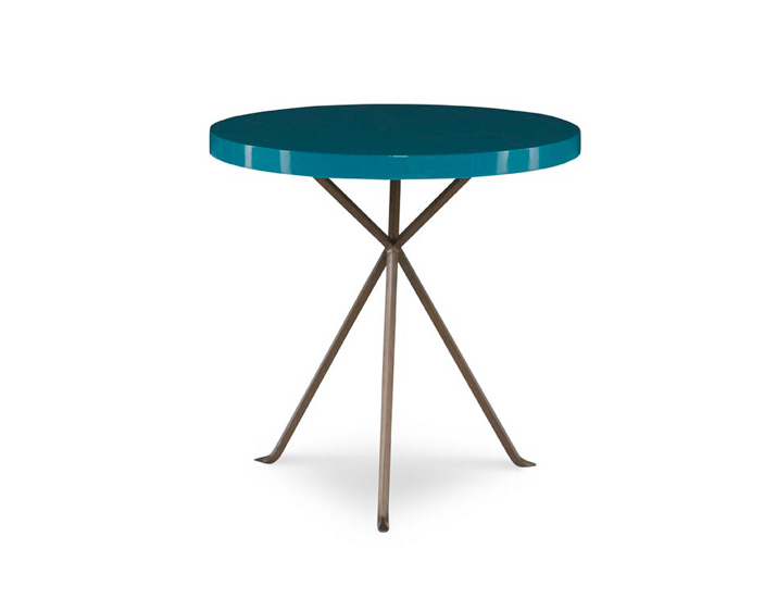 The X Table by Julian Chichester. A very nicely designed table...one I actually have in my own home. A nice overall scale and very interesting finish options. Available via certain boutiques across the country or through your designer.