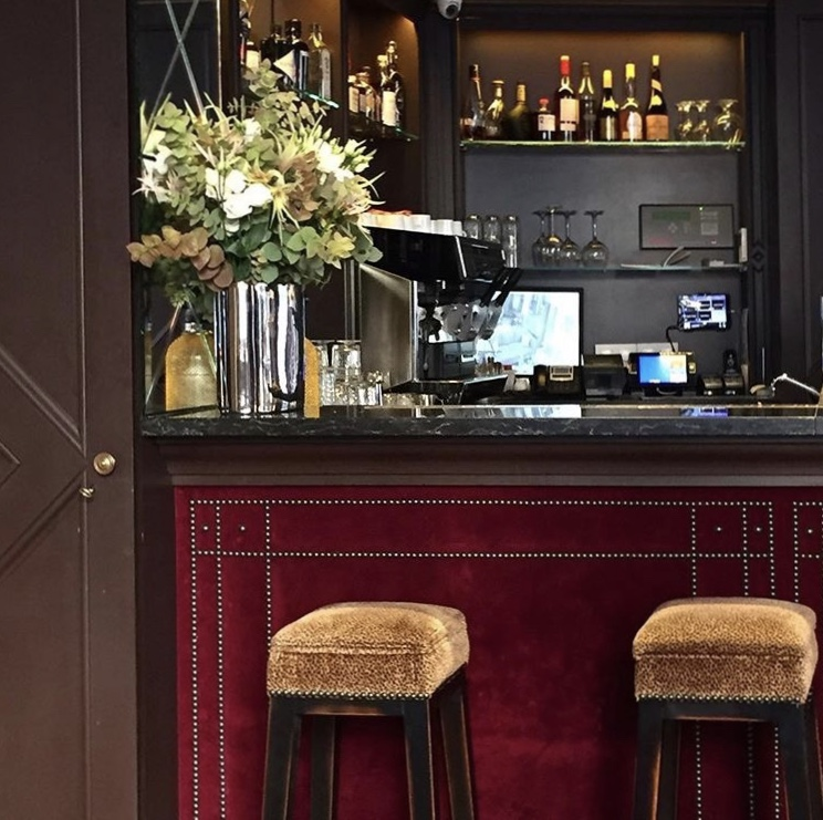 The Bar at Hotel le Saint, Paris