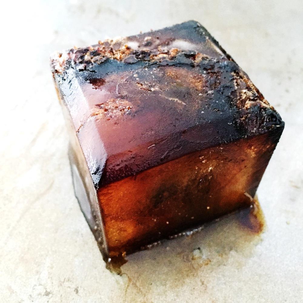 Precious stone of New Zealand light roast coffee.