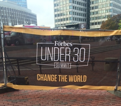 """2016 Forbes Under 30 Summit Puts Social Impact At The Forefront of Entrepreneurship."" October 21, 2016."