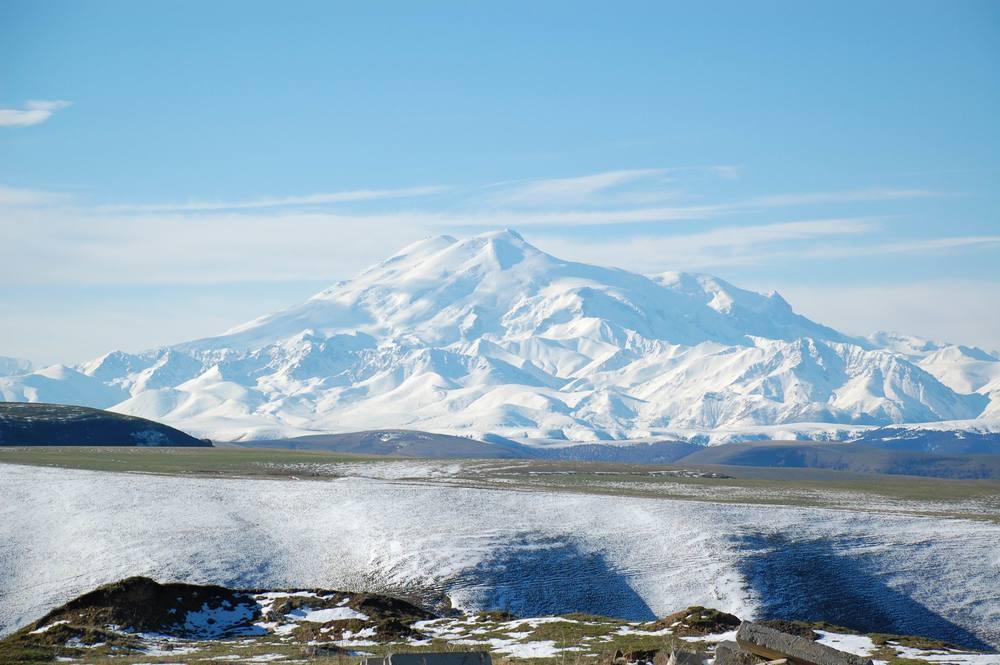 Mt. Elburs, Russia -  18,513' (5642m)