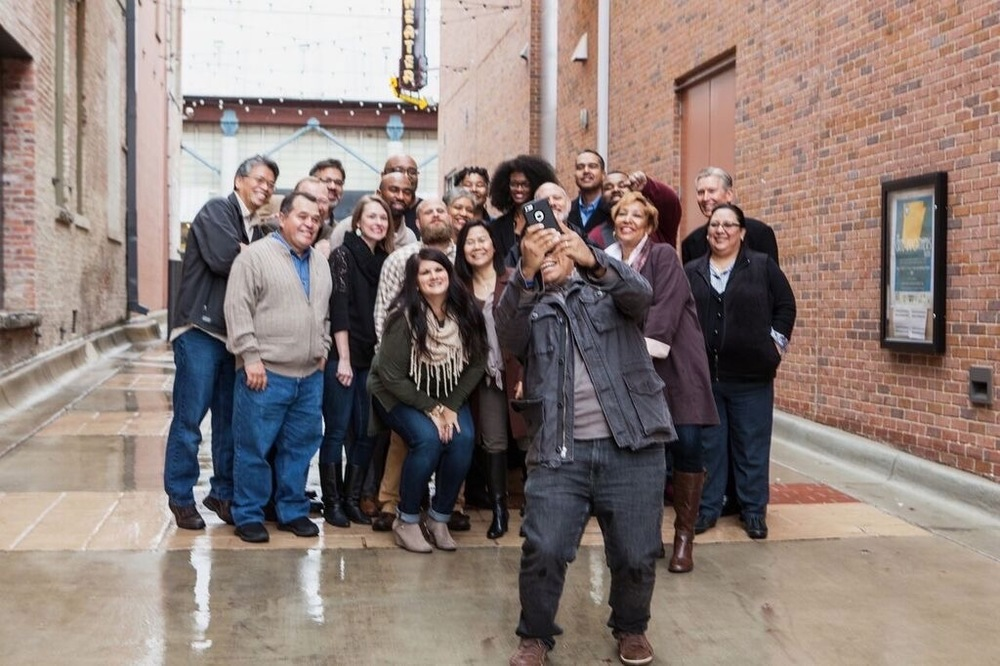 A rainy photoshoot with the beautifully diverse team at  Mosaic Church  of Little Rock, AR.