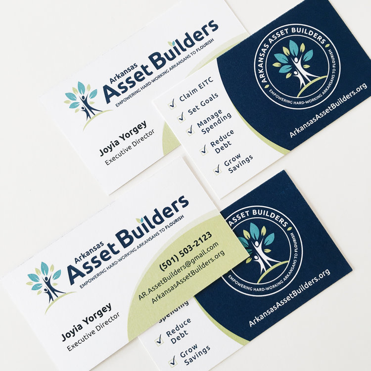 Clean Logo + Business Card Design for a new nonprofit in town ...