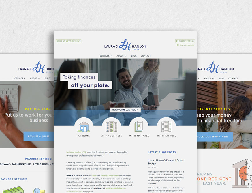 Laura Hanlon CPA Website