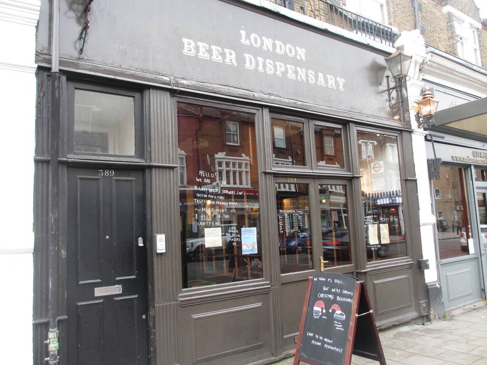 London Beer Dispensary In Crofton Park South London Club