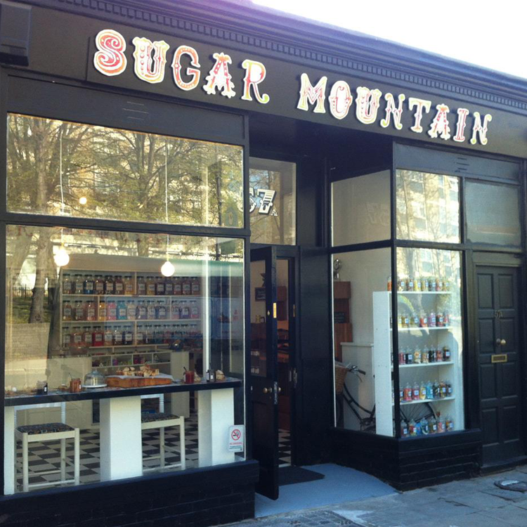Sugar Mountain Sweet Shop In Forest Hill South London Club