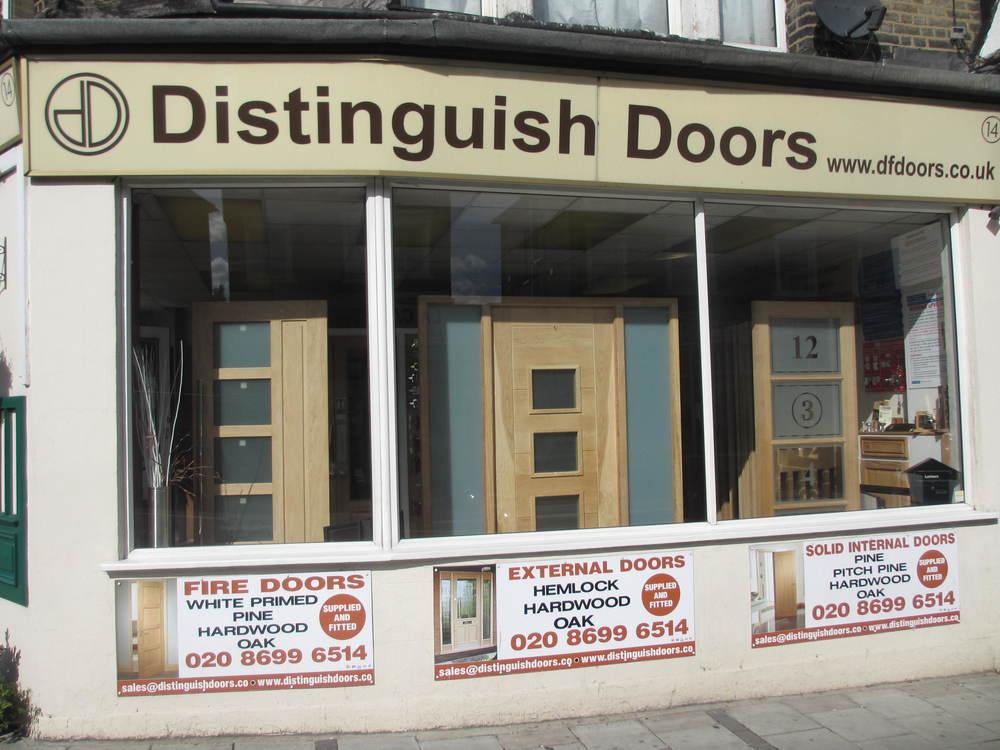 Distinguish Doors door shop in Forest Hill