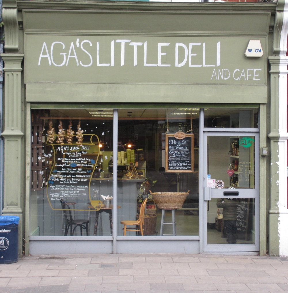 Aga's Little Deli In Forest Hill South London Club