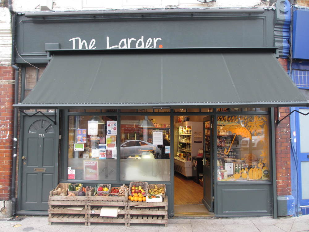 The Larder Deli In Ladywell South London Club.