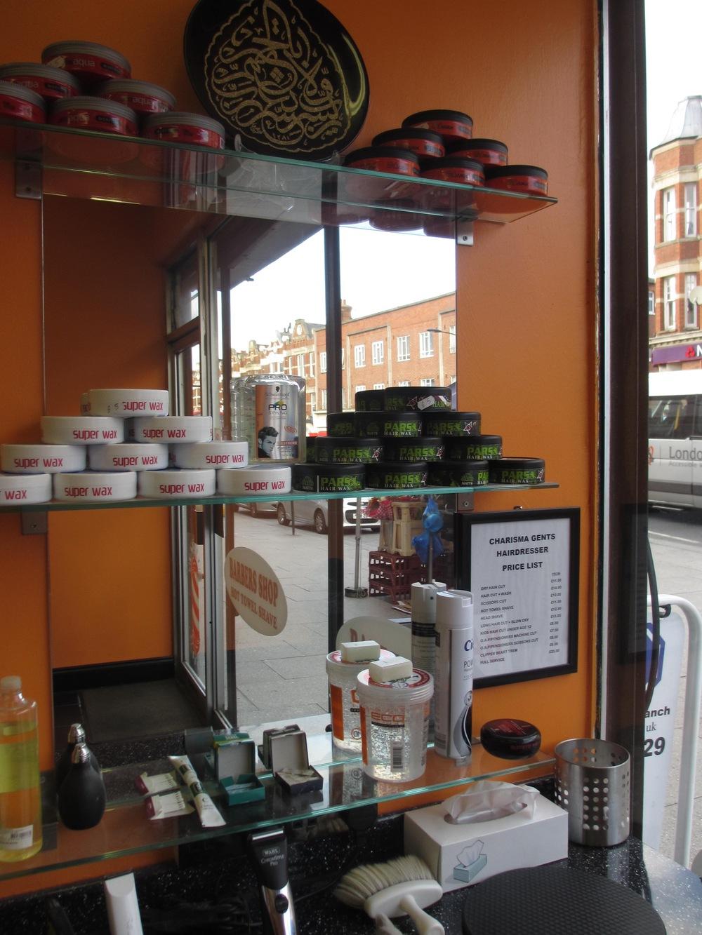 Charisma Barber shop in Sydenham South London Club