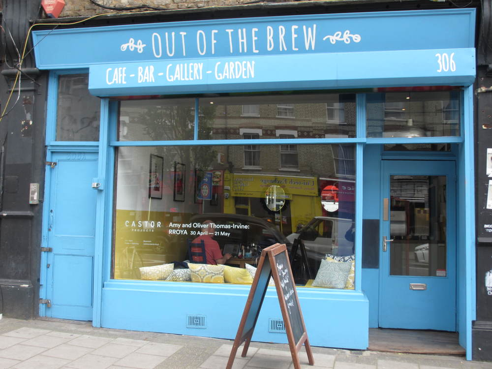 Out of the brew cafe in New Cross South London Club