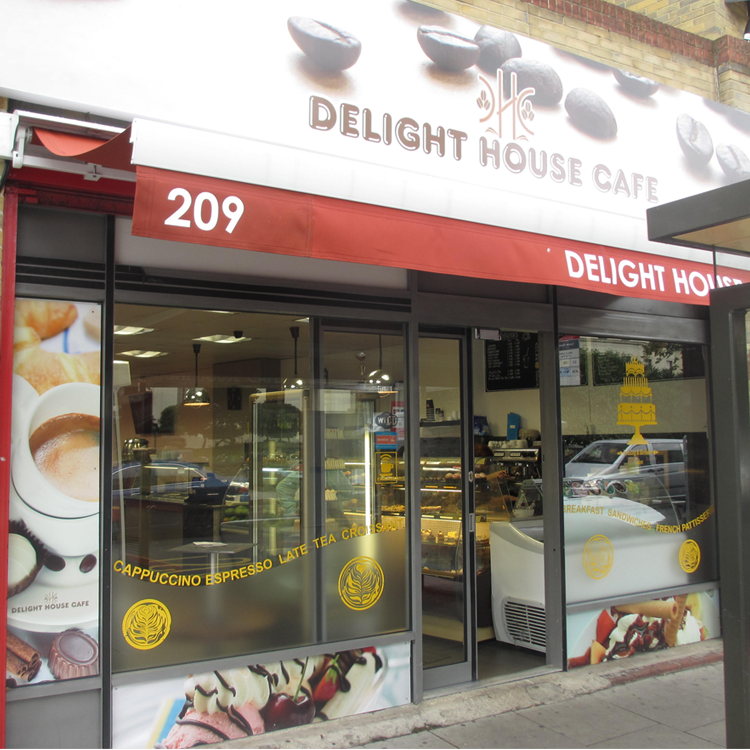 Delight House Cafe On Lewisham Way South London Club