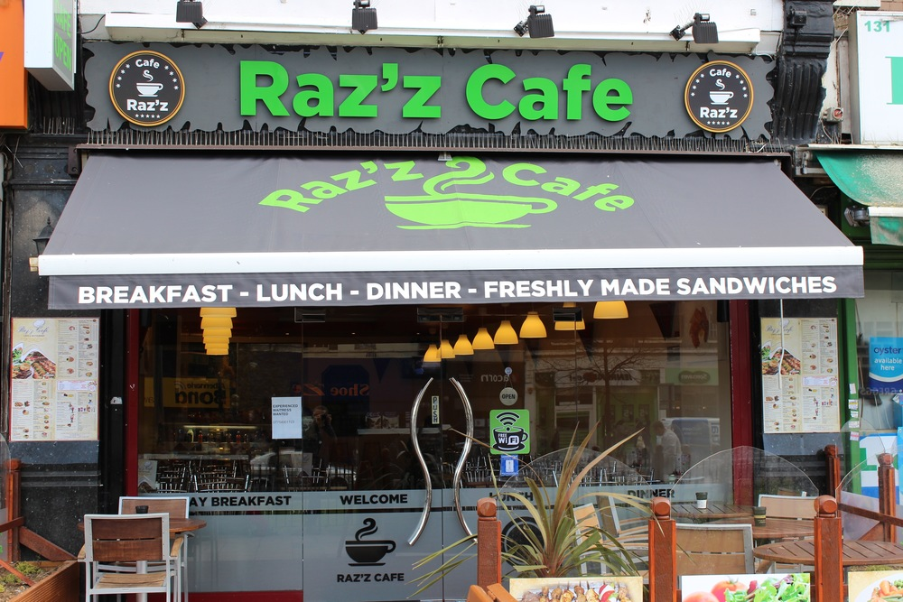 Raz'z cafe In Catford South London Club