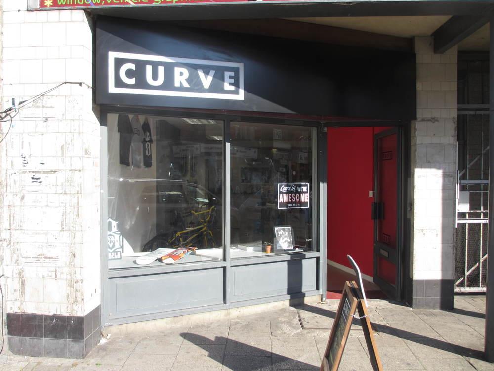 Curve Bike Shop In Deptford South London Club