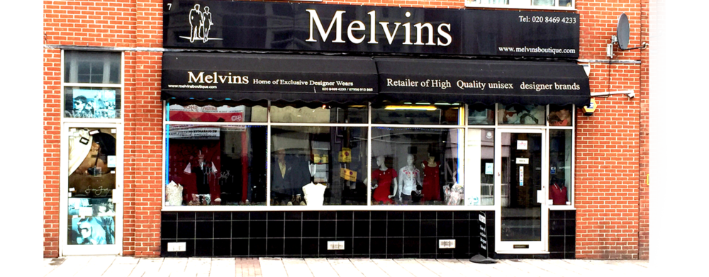 Melvins Clothes Shop In Deptford South London Club