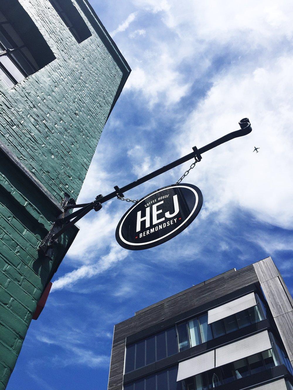 HEJ Coffee Shop in Bermondsey