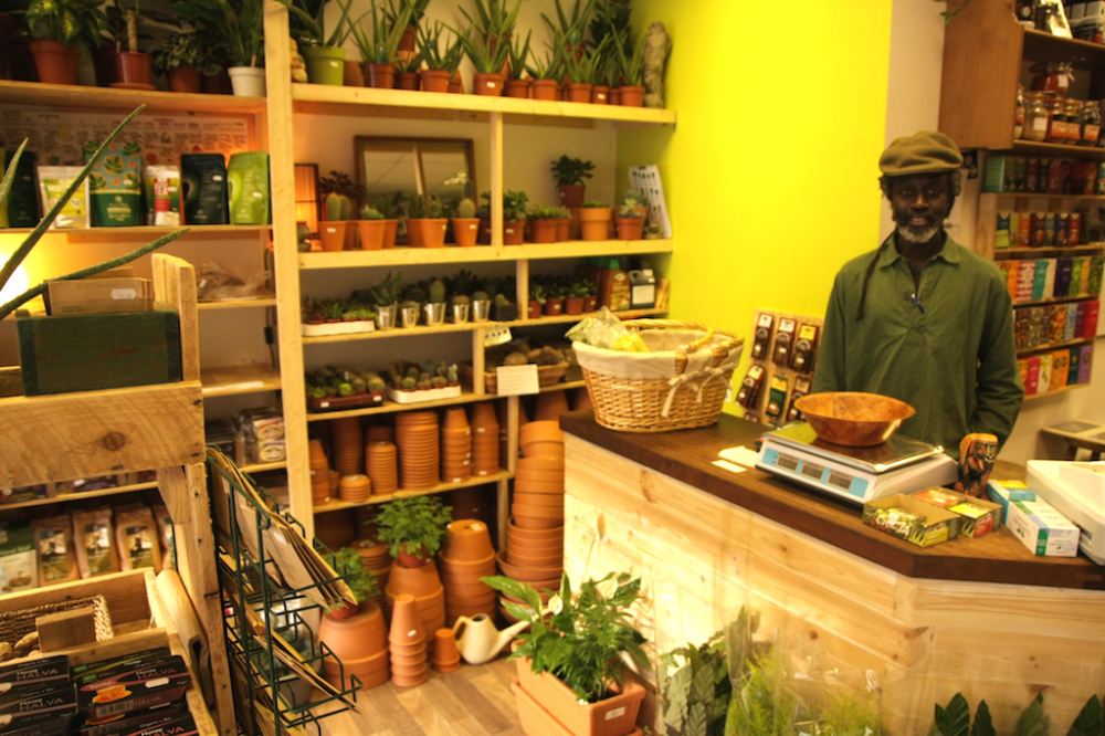 Green Onions Healthfood Shop in New Cross South London Club Card