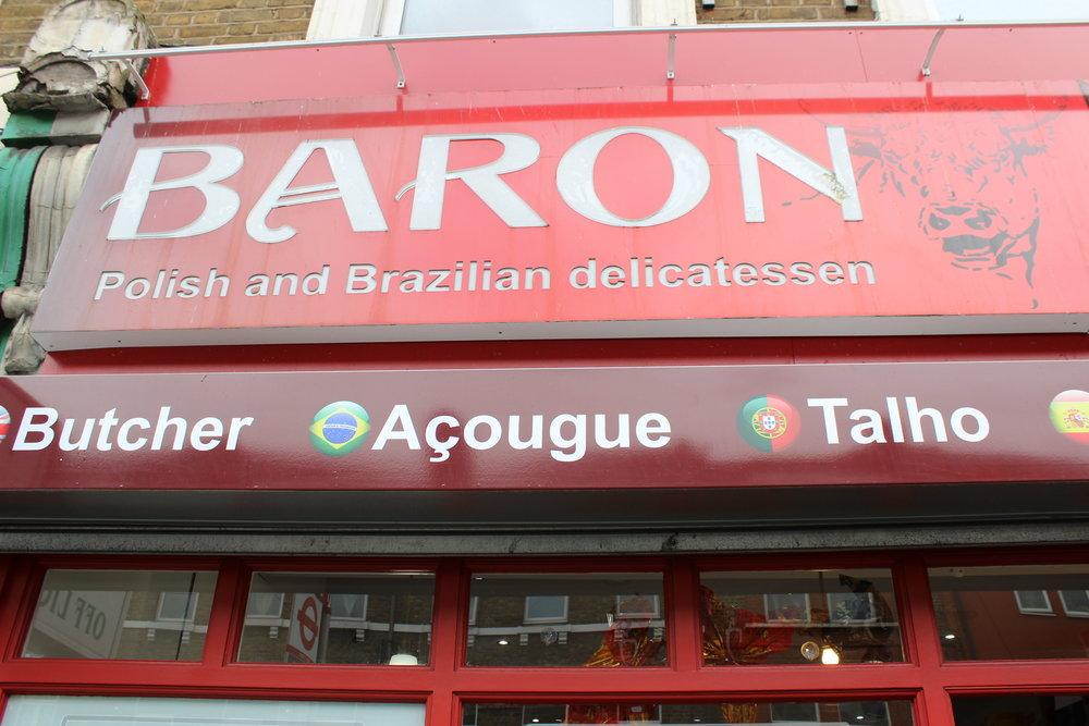 Baron Polish & Brazilian Deli and Butcher in West Norwood South London Club