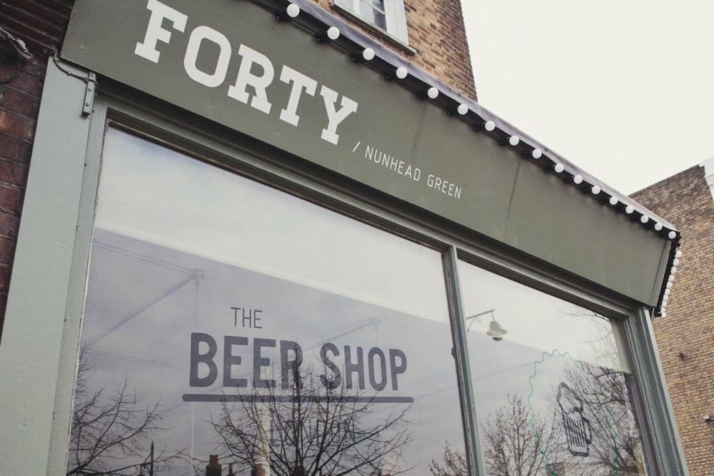 The Beer Shop Pub in Nunhead South London Club