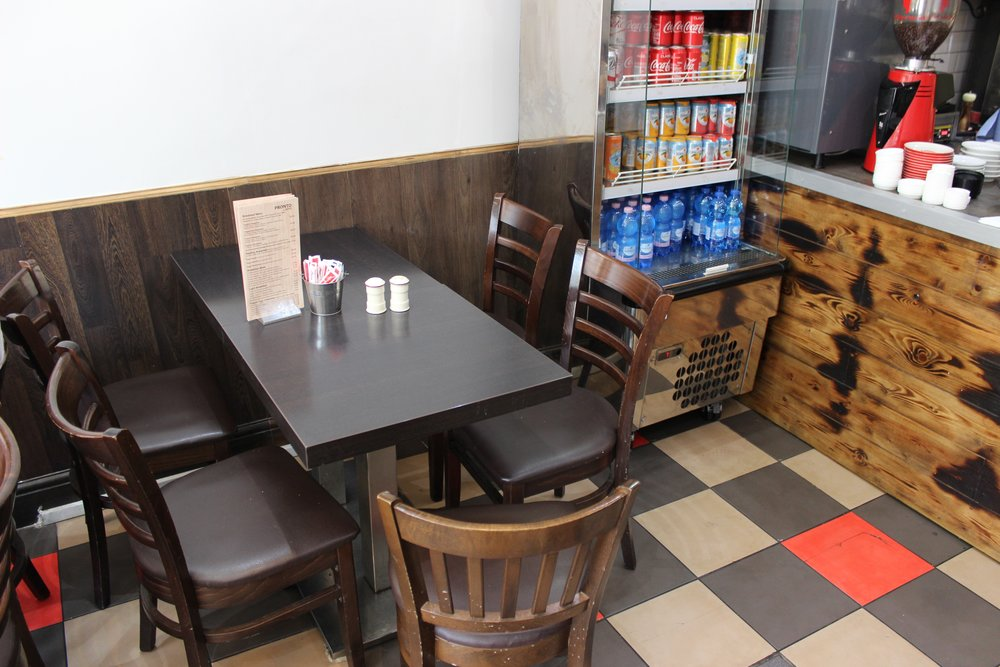 Cafe Pronto Cafe in Camberwell South London Club Card 9