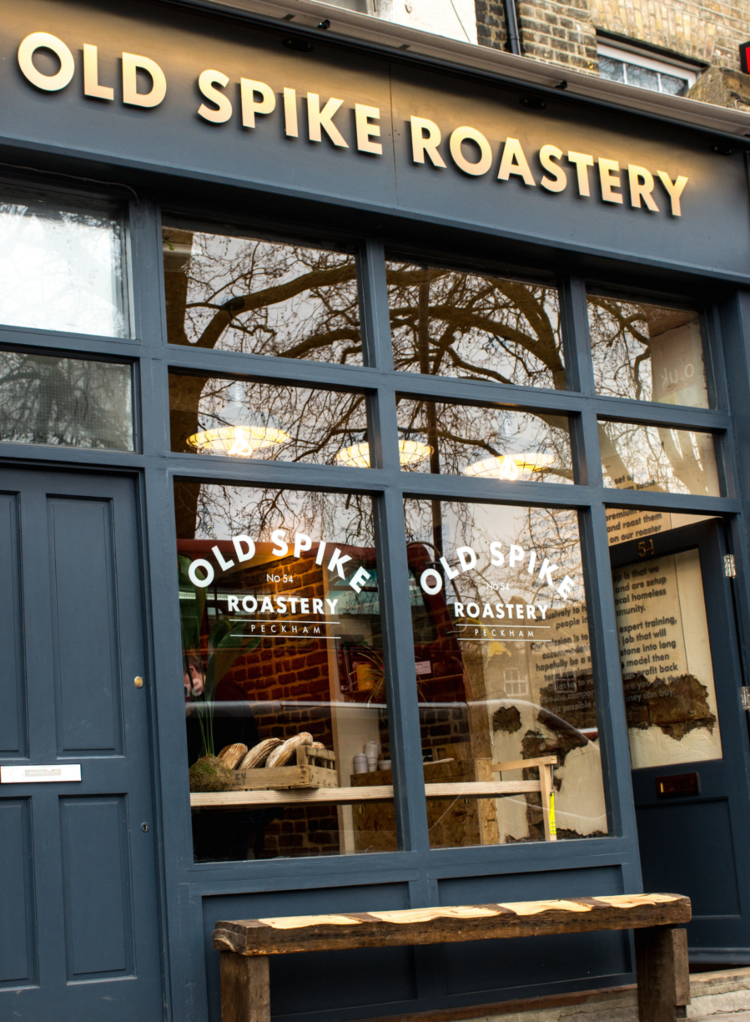 Old Spike Roastery Coffee Shop & Retailer in Peckham South London Club
